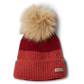 Columbia Winter Blur Bonnet Pompon, beet/daredevil